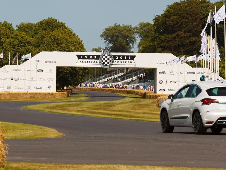 The stunning circuit at Goodwood hosts the