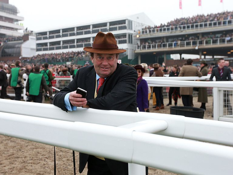 Nicky Henderson: Favourite to win trainers' title