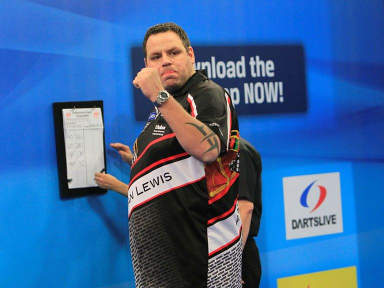 Adrian Lewis: Romped to a 10-0 win in Blackpool