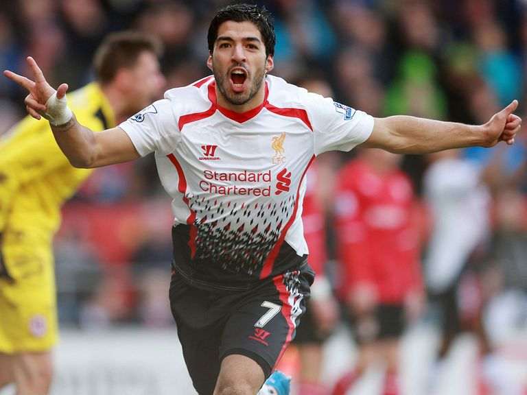 Luis Suarez: Favourite for PFA award