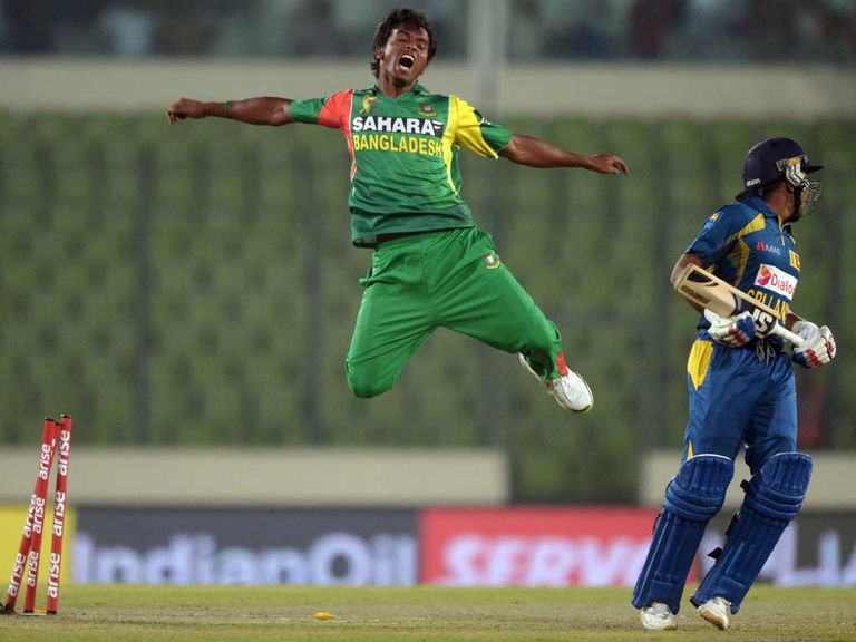 Rubel Hossain: Ruled out of World Twenty20