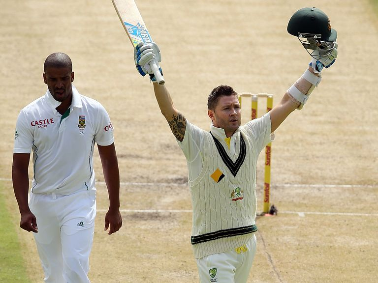 Michael Clarke's side are on top of the rankings