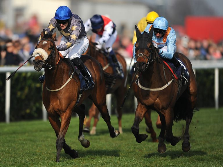 Brae Hill (left) pictured winning the William Hill Spring Mile at Doncaster