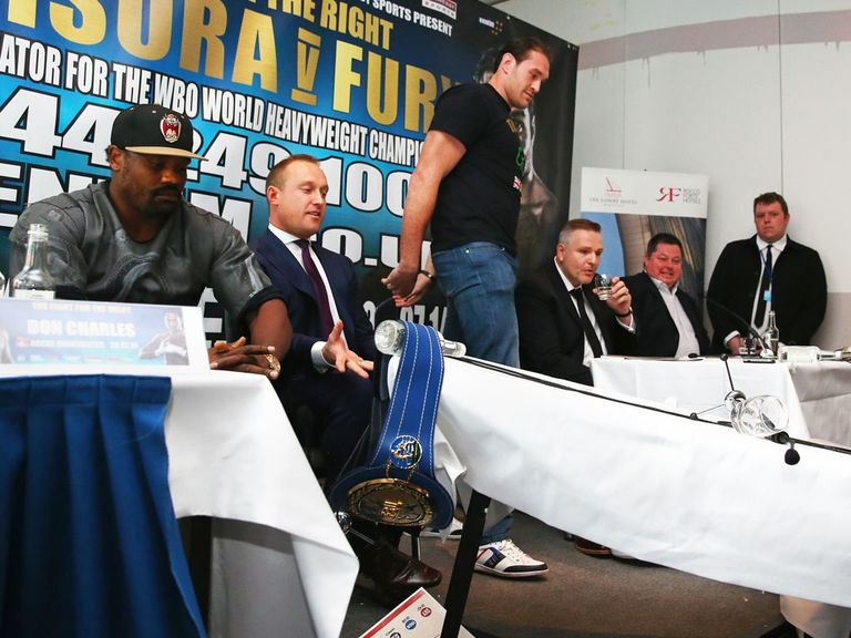Tyson Fury makes his statement