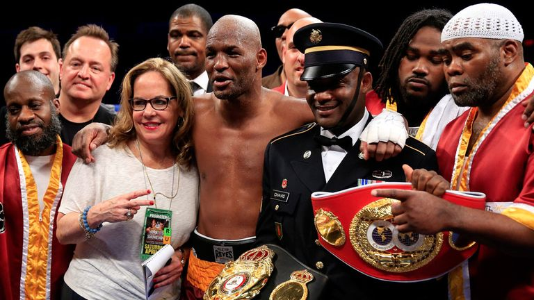 Bernard Hopkins: Set another record with victory over Beibut Shumenov
