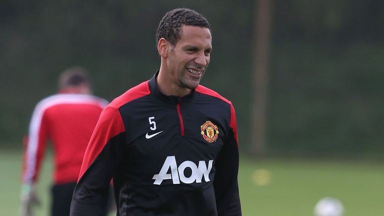 Rio Ferdinand: Manchester United defender is out of contract in the summer