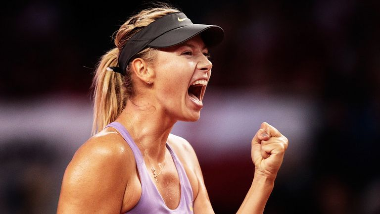 Maria Sharapova is ready to build on her Stuttgart success