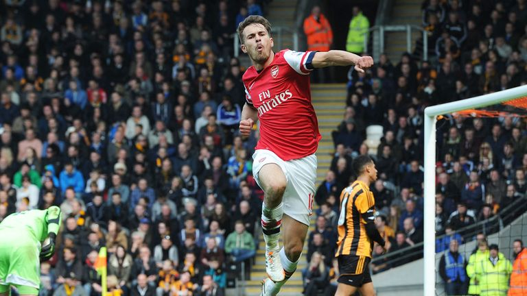 Ramsey: Arsenal would have flown higher had Welshman remained available, says Merson