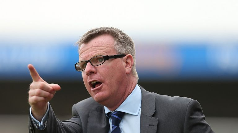 Andy Awford: Portsmouth manager on a permanent basis