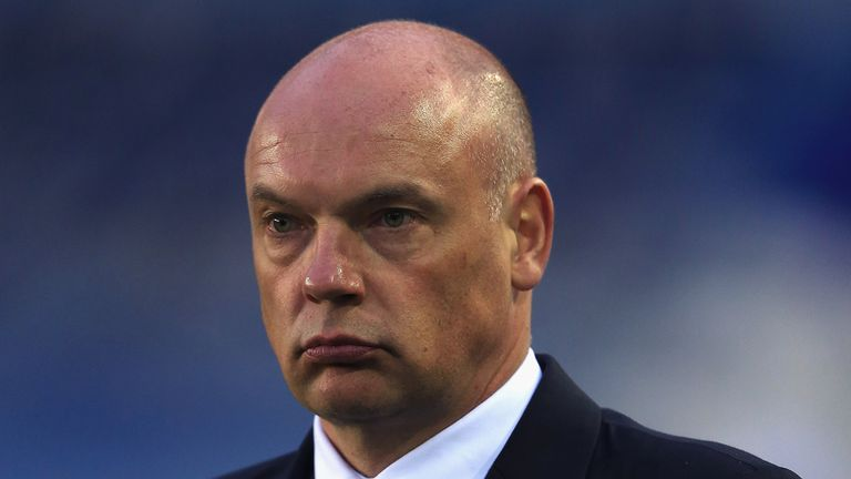 Uwe Rosler: Still piecing his squad together at the DW Stadium