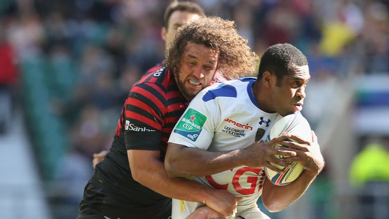 Burger: A tackling machine for Saracens
