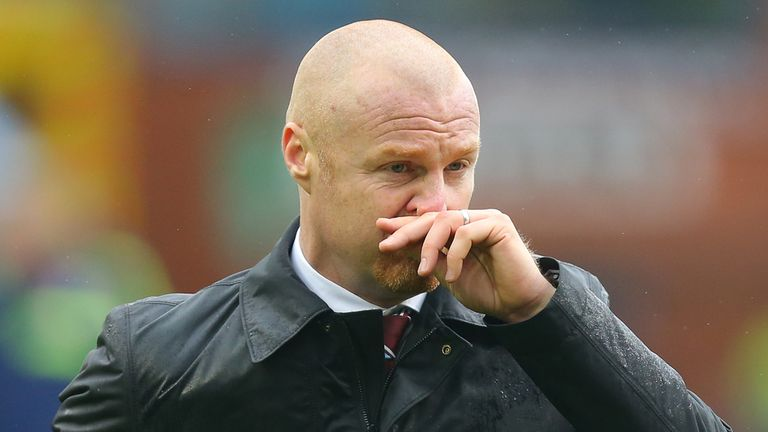 Sean Dyche: Not happy with some of ref's decisions