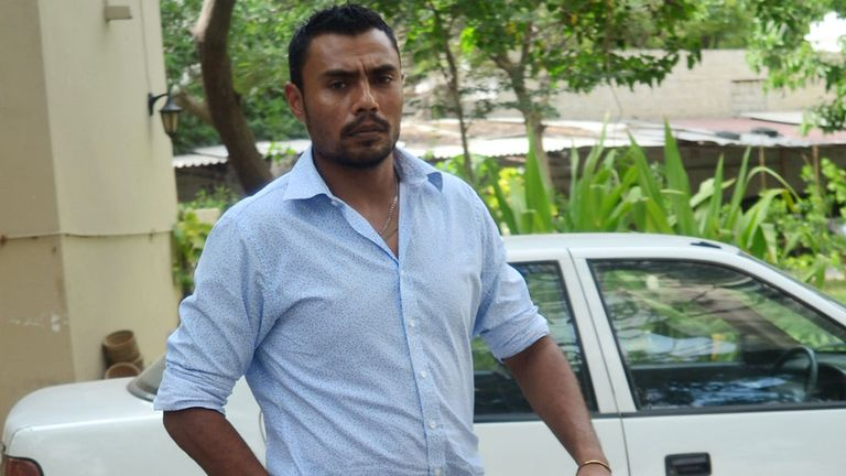 Danish Kaneria pictured in Karachi last year