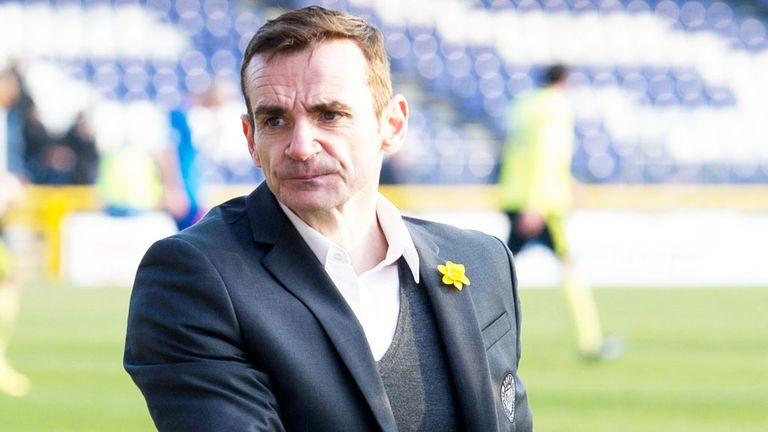 Danny Lennon: Won just 50 of his 179 games in charge of St Mirren