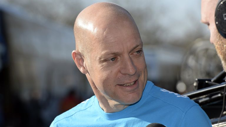 Sir Dave Brailsford is keen to not lose time of stage two of the Tour de France