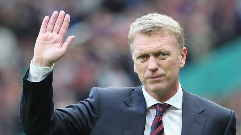 David Moyes: Former Manchester United boss has agreed terms over his exit