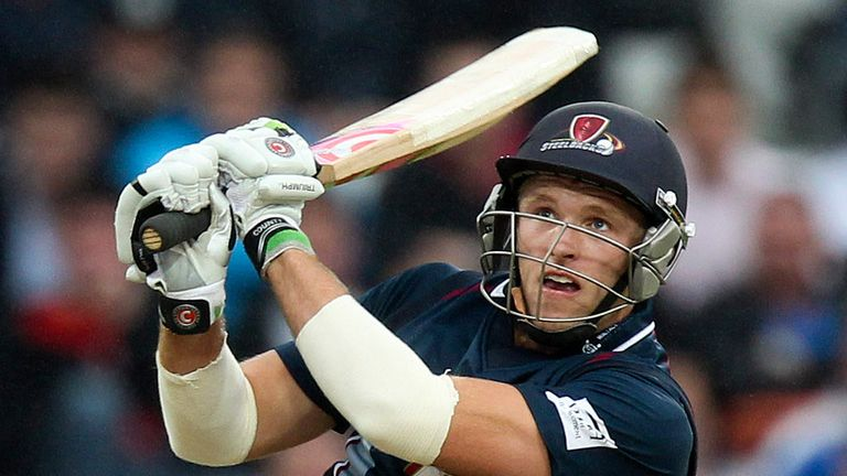 David Willey: Hit an explosive 95 off just 45 balls to help Northamptonshire to victory