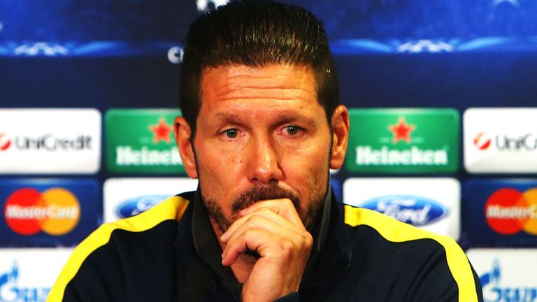 Diego Simeone: Winning is all that counts for Atletico boss
