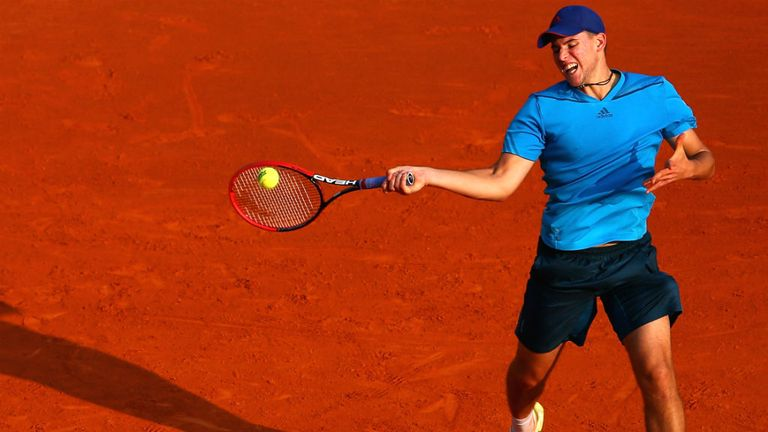 Dominic Thiem: The young Austrian upset Radek Stepanek in Barcelona