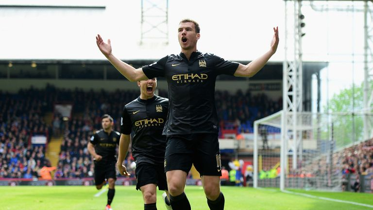 Edin Dzeko: Broke the deadlock for Man City after just four minutes