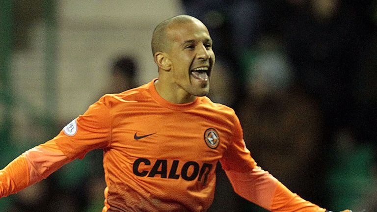 Farid El Alagui: Earned Dundee United a draw with Inverness