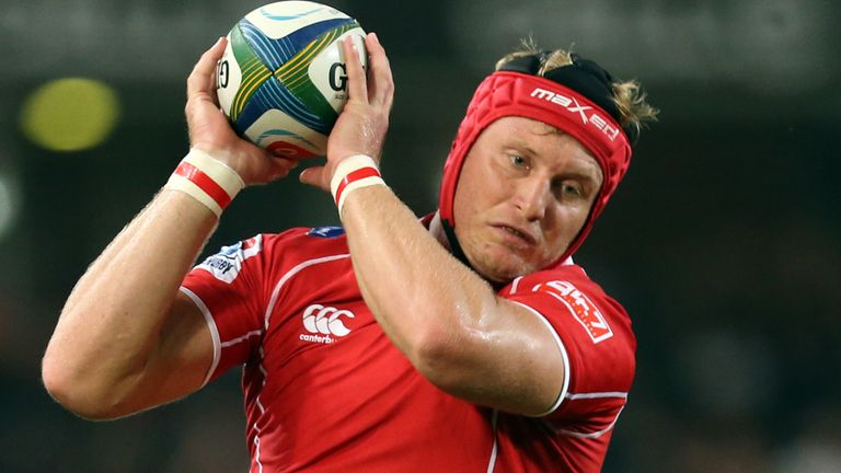 Franco Van der Merwe: Has agreed two-year deal with Ulster