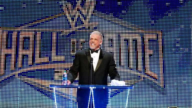 ultimate warrior hall of fame - photo #14