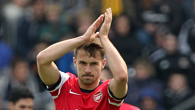 Aaron Ramsey: Says Luis Suarez is a magnificent player