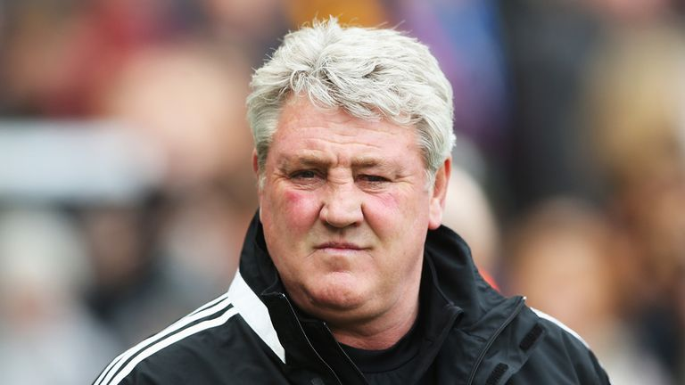 Steve Bruce: Keen to finish off the job of avoiding relegation