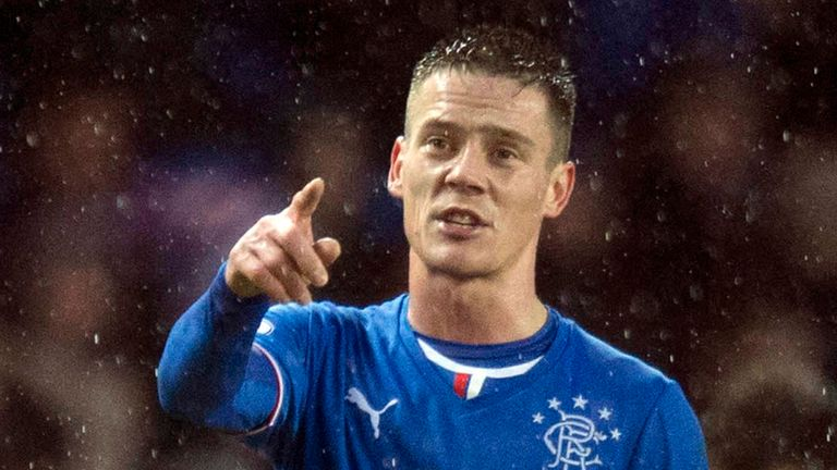 Ian Black: A doubt for Rangers trip to Falkirk