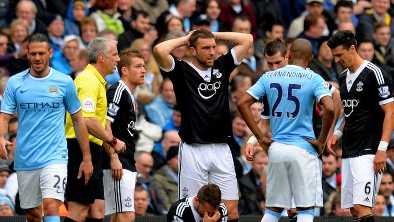 Jay Rodriguez: Injured at Manchester City