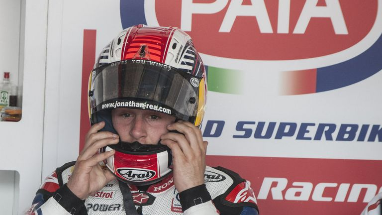 Jonathan Rea: Fastest at Imola practice