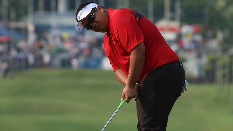 Defending champion in Malaysia, Kiradech Aphibarnrat, is still emotional after losing his coach last year