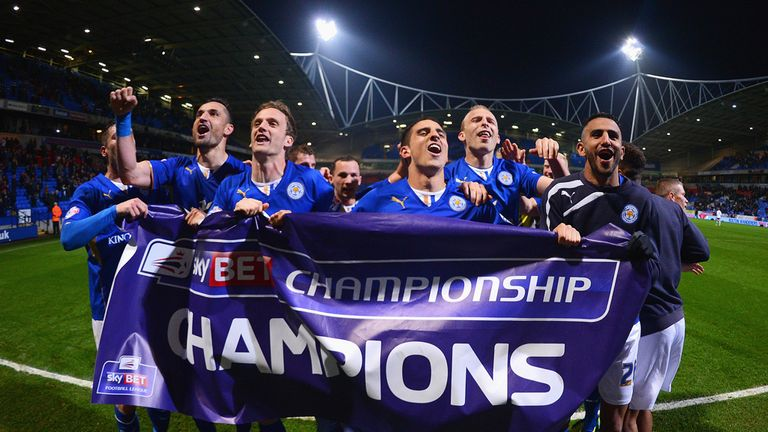 Leicester: The celebrations are over - the Foxes are now focused on preparing for the Premier League