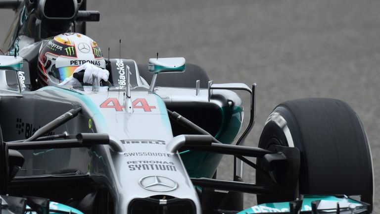 Lewis Hamilton: Fastest but unhappy with handling