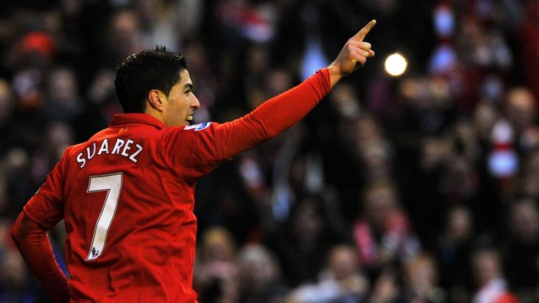 Luis Suarez: Favourite for this year's PFA Player of the Year award