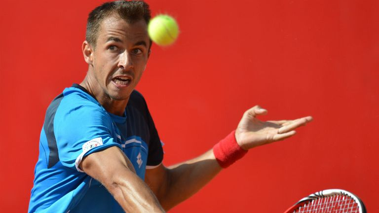 Lukas Rosol: Makes a successful start to his Nastase Tiriac Trophy defence