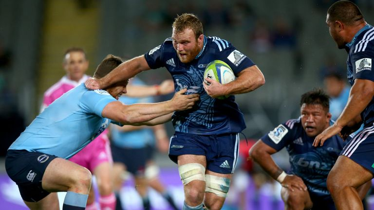 Luke Braid: Returns to captain the Blues against conference leaders, the Sharks.