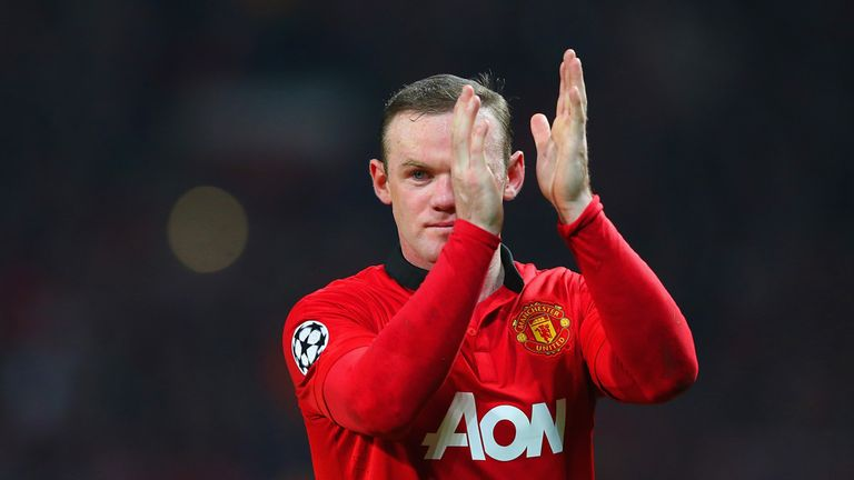 Wayne Rooney: Upbeat for the return leg at the Allianz Arena in Munich