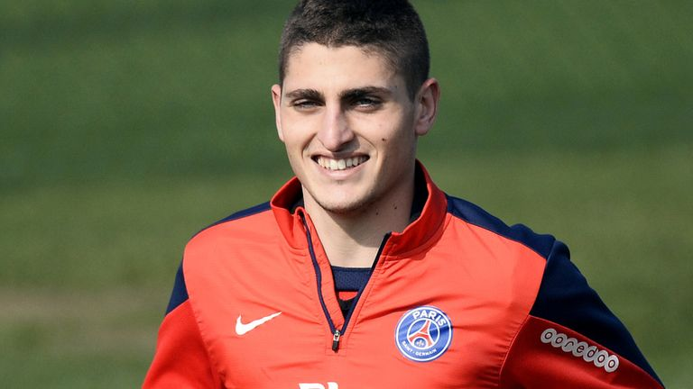 Marco Verratti: Italy international happy with PSG