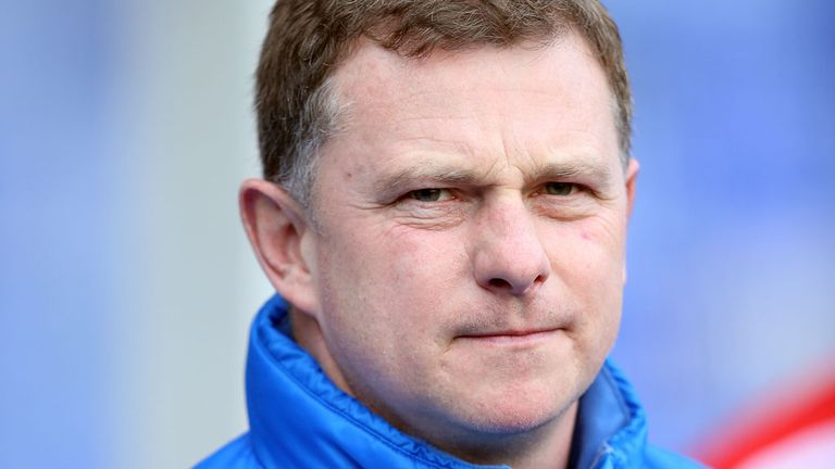 Mark Robins: Was happy with the first-half at Derby