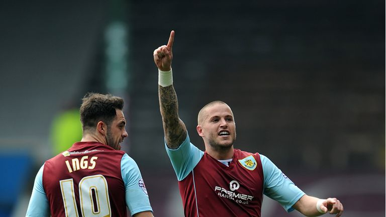 Michael Kightly: Scored again for Burnley