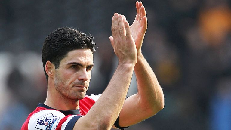 Mikel Arteta: Launches defence of Wenger