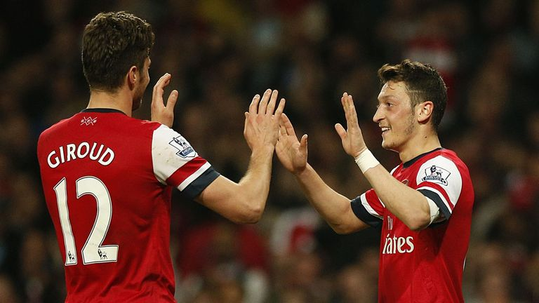 Ozil can create openings for Giroud, says Charlie