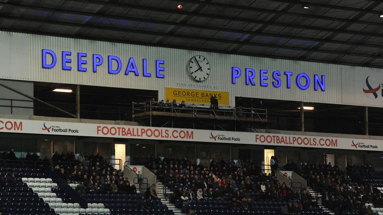 Deepdale: Home to Preston North End