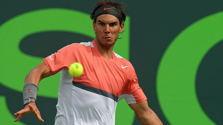 Rafa Nadal: Admits he has work to do heading into the clay court season