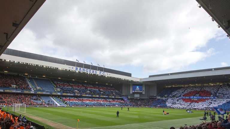 Ibrox: Venue for Scotland's game against Georgia