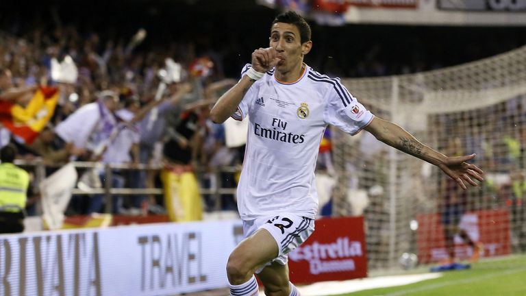 Angel Di Maria: Attracting interest from PSG but a move appears unlikely