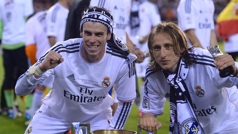 Bale & Modric: two former Tottenham stars will be in action for Real Madrid this weekend