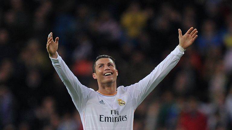 Cristiano Ronaldo: Scored twice for Real